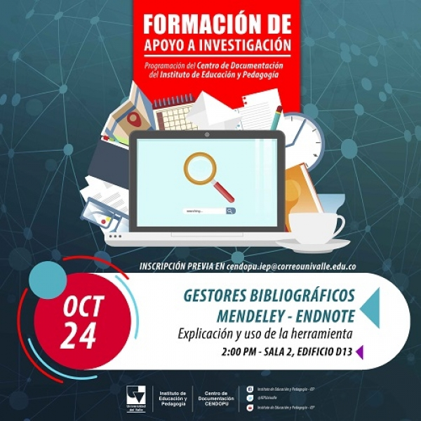 Taller Mendeley - Endnote